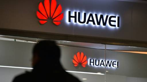 Huawei demoted two employees for tweeting from an iPhone, their rival