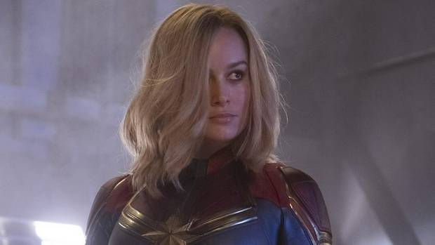 Captain Marvel rockets to historic $153m debut at the US box office